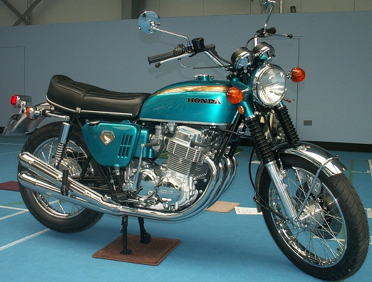 Derrel Weaver's superb 1969 Honda CB750 - see it on The 750/4s Club Stand