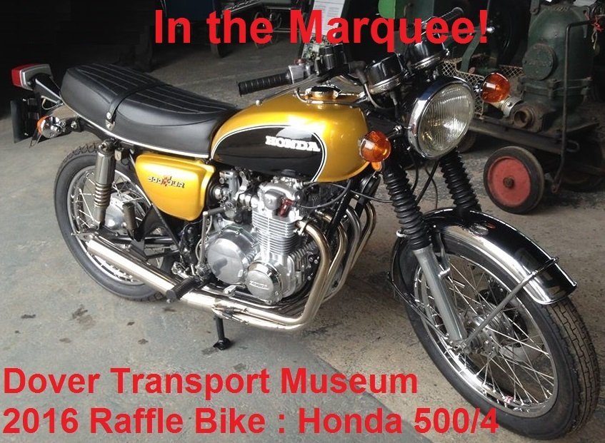 Honda Raffle Bike